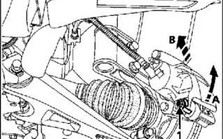 Замена двигателя рено кангу