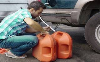 Как слить бензин с ваз 2115