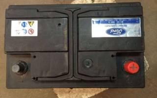 Форд фокус 2 замена аккумулятора