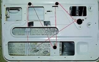 Ваз 2107 замена стеклоподъемника
