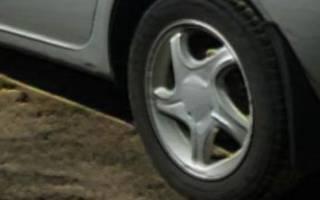 Размер колес на калину