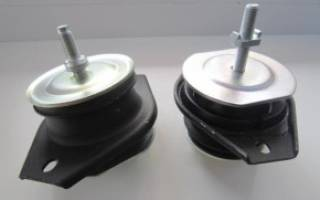 Подушки двигателя ваз 2110 16 клапанов